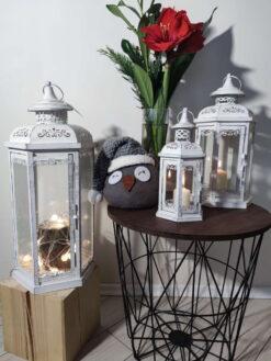 """Metaliniai žibintai – žvakidės """"Kora"""" interjere 1"""