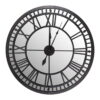 """Laikrodis """"Grand Central"""" (juodas)"""