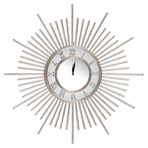 """Laikrodis """"Luxury"""" (sidabras)"""