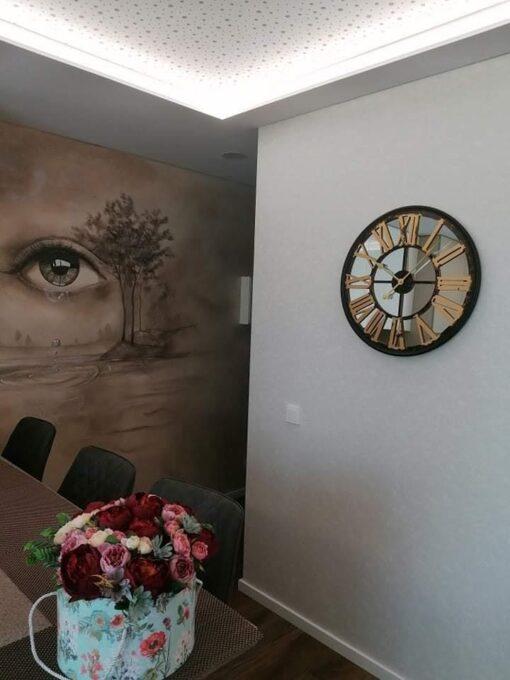 "Laikrodis ""Ritmas"" interjere 9"