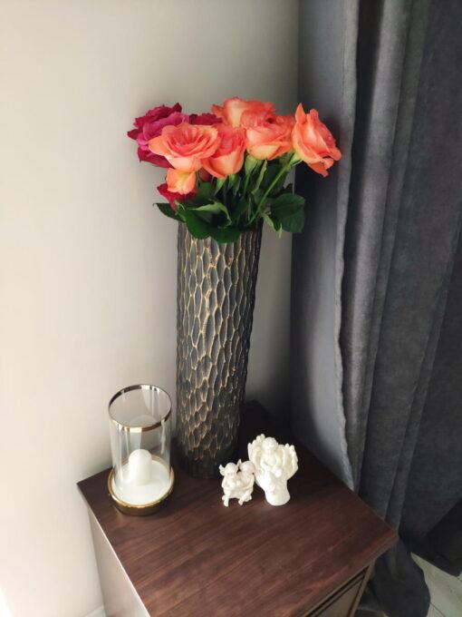"""Keramikinė vaza """"Lora"""" interjere 3"""